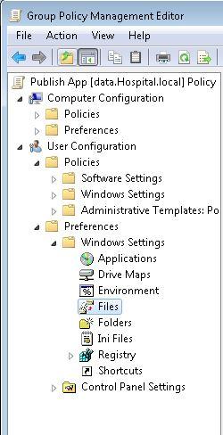 GPO Share Files